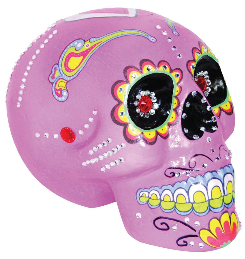 Gemmy (Sun Star) Scary Sugar Skull Haunted House Decoration - Costume Arena