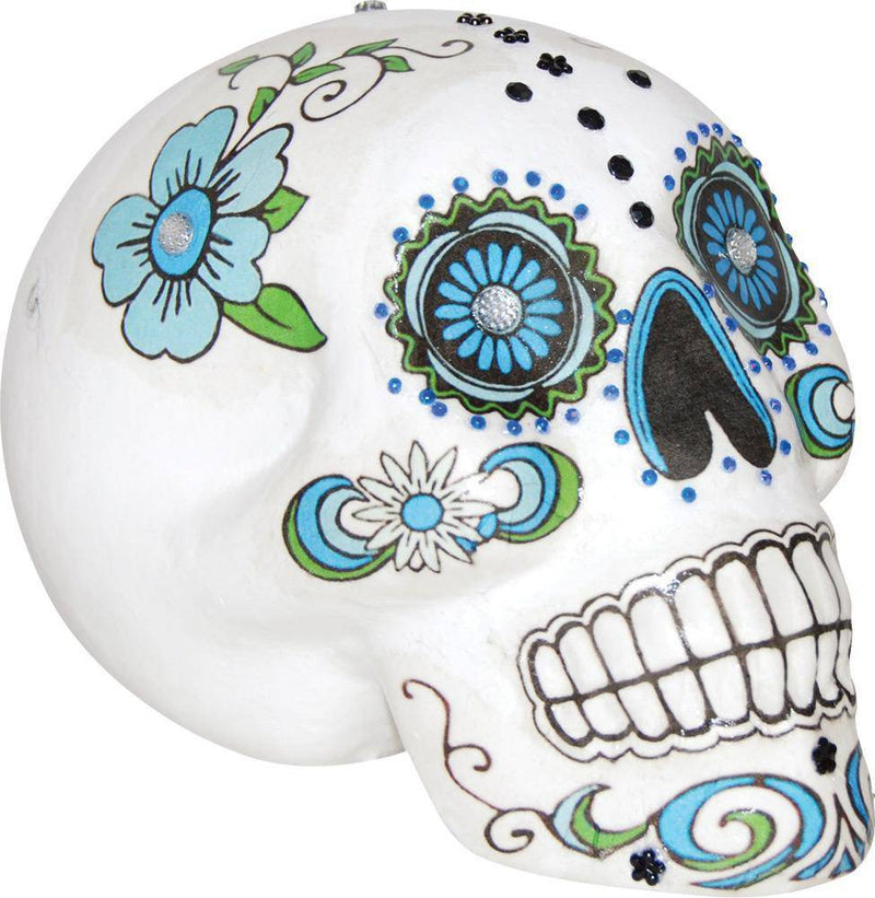 Gemmy (Sun Star) Sugar Skull Horror Theme Party Decoration - Costume Arena