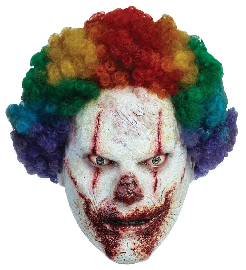 Ghoulish Productions Adult Clown Movie Horror Halloween Mask - Costume Arena