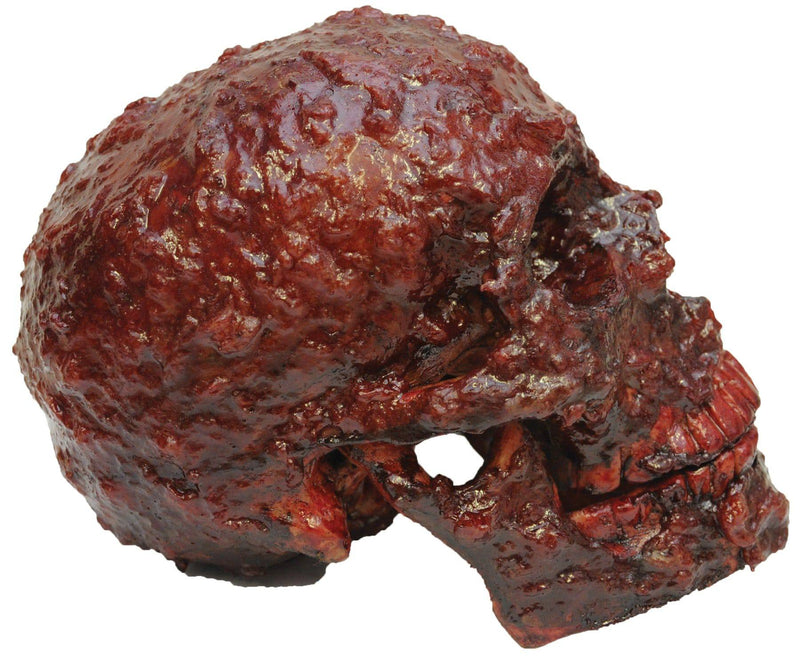 Ghoulish Productions Bloody Scabs Skull Horror Movie Decoration - Costume Arena