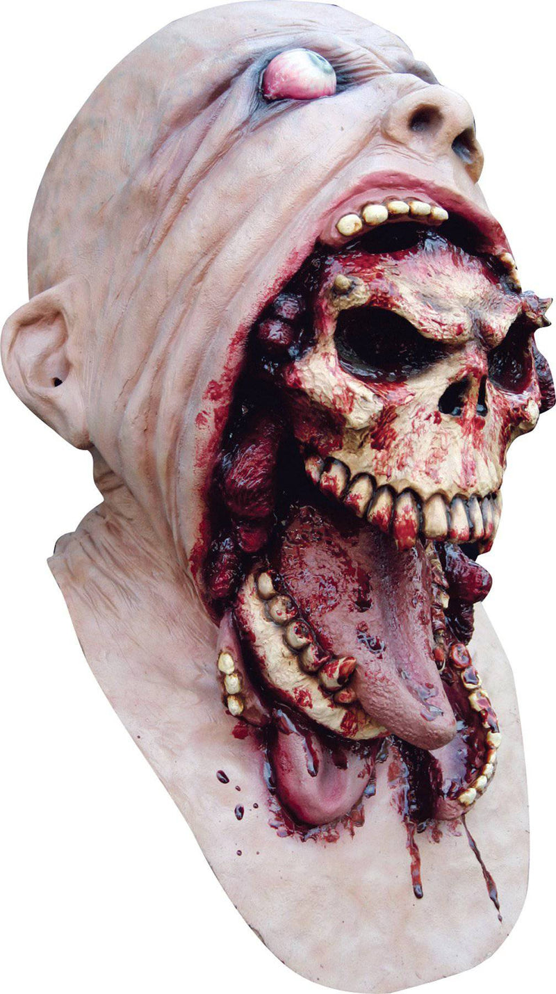 Ghoulish Productions Blurp Charlie Horror Movie Theme Latex Mask - Costume Arena
