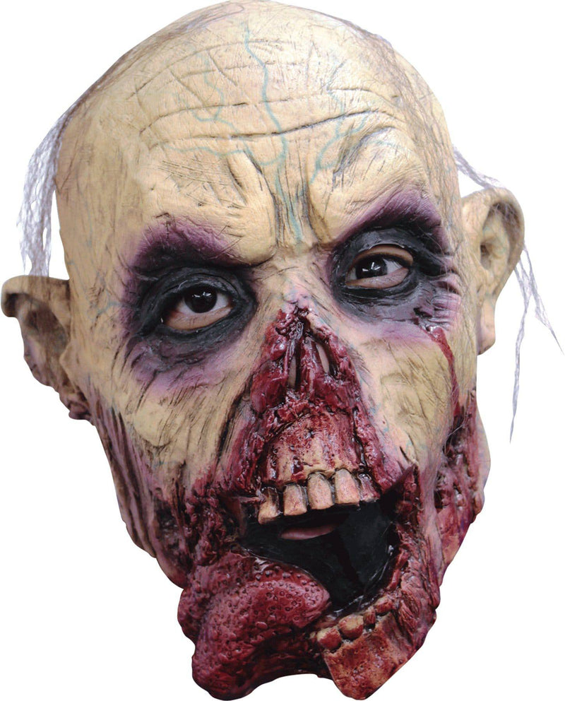 Ghoulish Productions Child's Zombie Tongue Halloween Latex Mask - Costume Arena