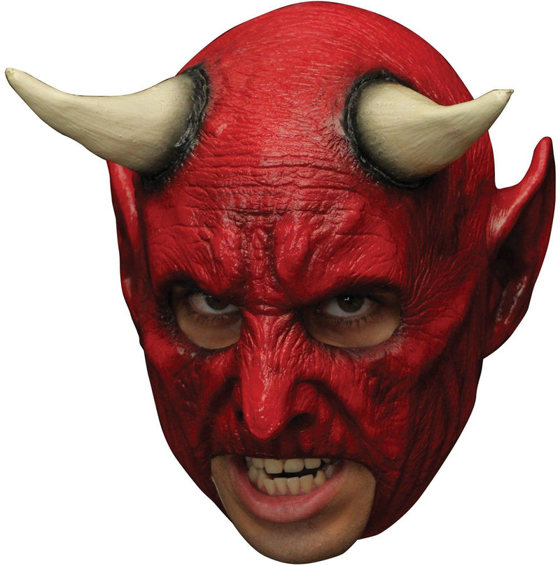 Ghoulish Productions Chinless Demon Horror Movie Humorous Mask - Costume Arena