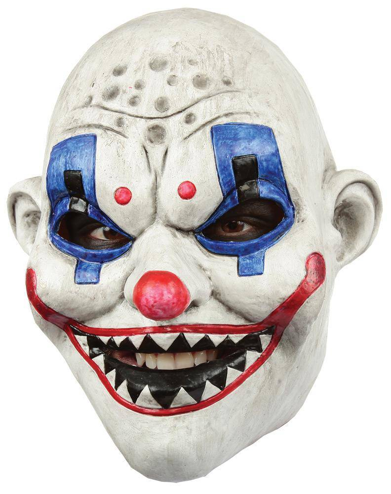 Ghoulish Productions Clown Gang Raf Horror Movie Halloween Mask - Costume Arena