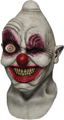 Ghoulish Productions Crazy Eye Clown Horror Theme Halloween Mask - Costume Arena