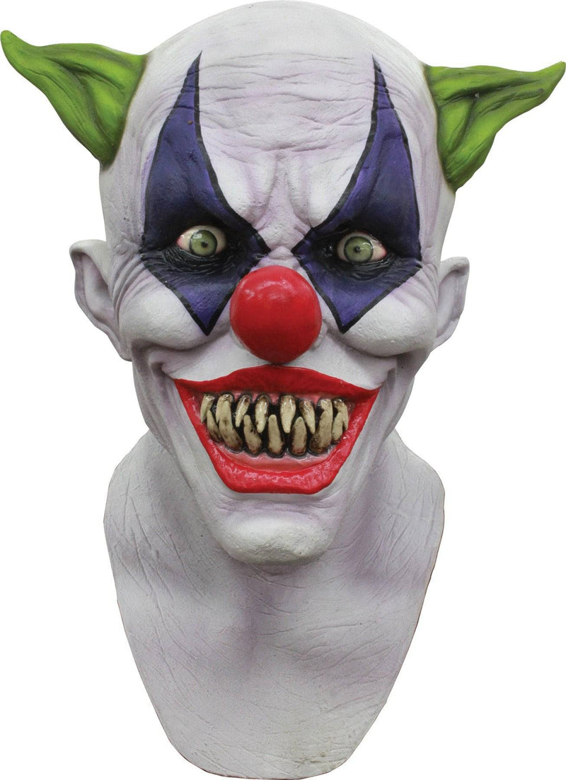 Ghoulish Productions Creepy Giggles Theme Halloween Latex Mask - Costume Arena