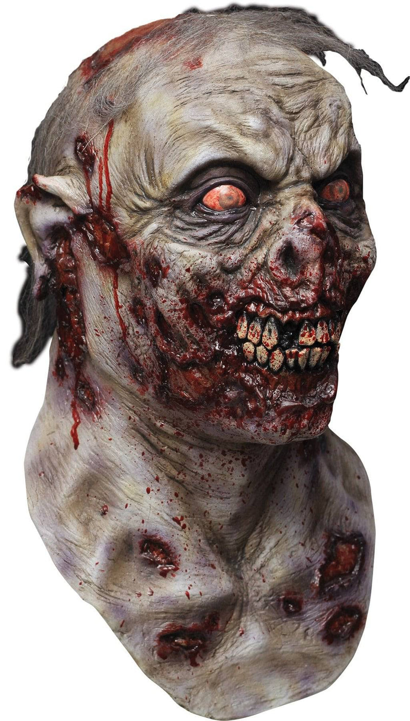 Ghoulish Productions Creepy Roamer Horror Halloween Latex Mask - Costume Arena