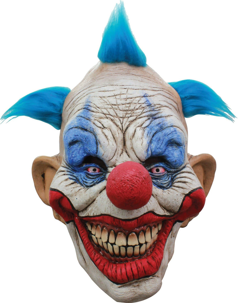 Ghoulish Productions Dammy The Clown Horror Halloween Latex Mask - Costume Arena