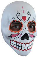 Ghoulish Productions Day Of The Dead Catrina Theme Halloween Mask - Costume Arena