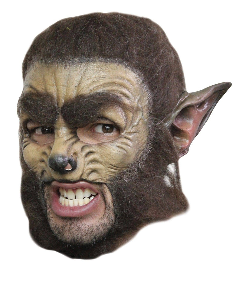 Ghoulish Productions Deluxe Wolf Chinless Theme Humorous Mask - Costume Arena