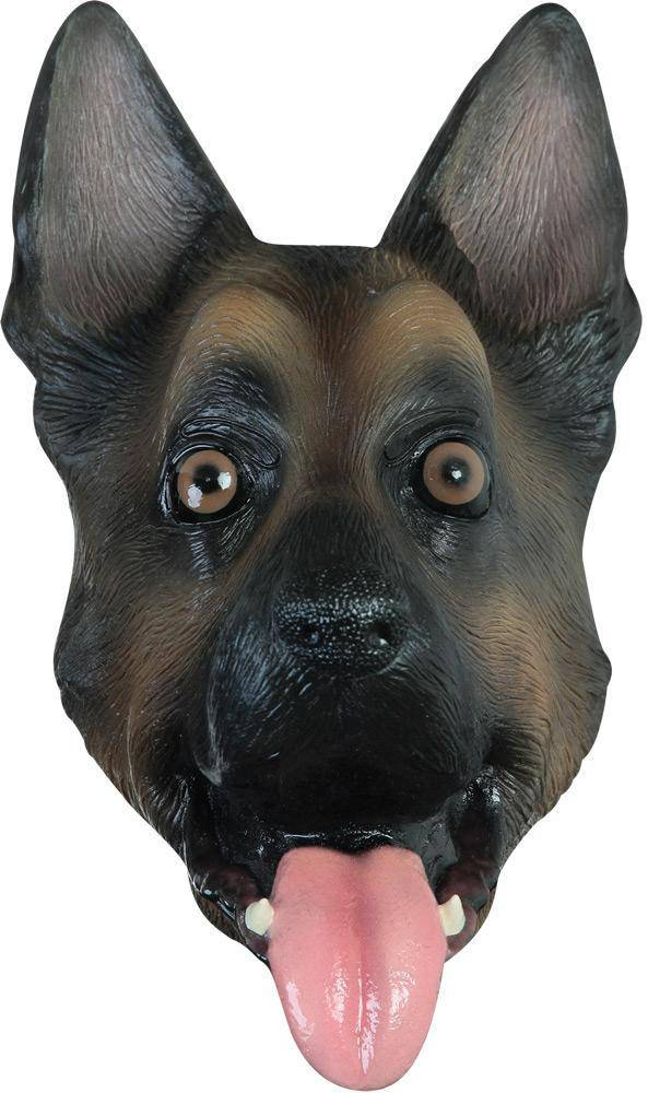 Ghoulish Productions German Shepherd Theme Party Halloween Mask - Costume Arena