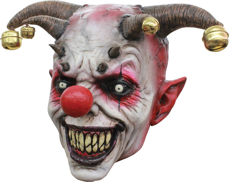 Ghoulish Productions Jingle Jangle Horror Theme Party Latex Mask - Costume Arena