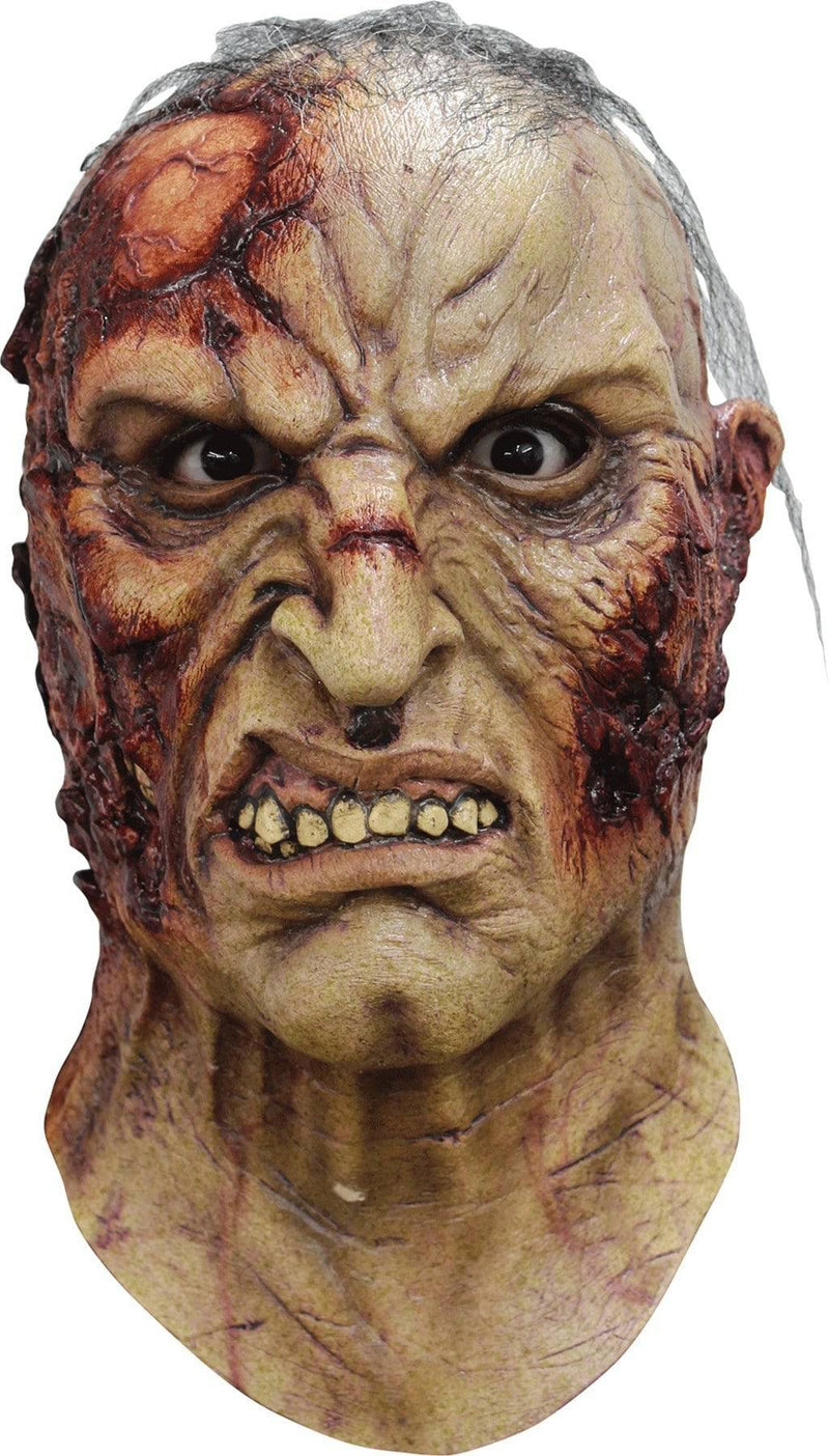 Ghoulish Productions Mortus Horror Halloween Humorous Latex Mask - Costume Arena