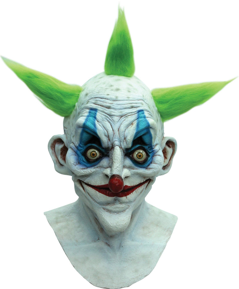 Ghoulish Productions Old Clown Horror Movie Theme Latex Mask - Costume Arena