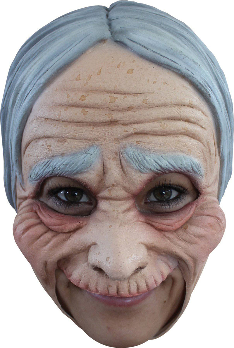 Ghoulish Productions Old Woman Chinless Theme Humorous Latex Mask - Costume Arena