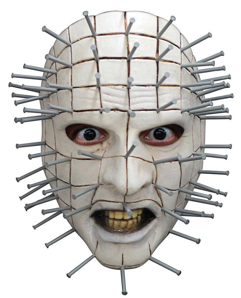 Ghoulish Productions Pinhead Face Horror Halloween Humorous Mask - Costume Arena