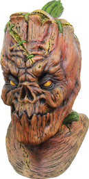 Ghoulish Productions Pumpkenstein Theme Halloween Latex Mask - Costume Arena