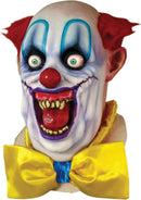 Ghoulish Productions Rico The Clown Horror Movie Theme Party Mask - Costume Arena