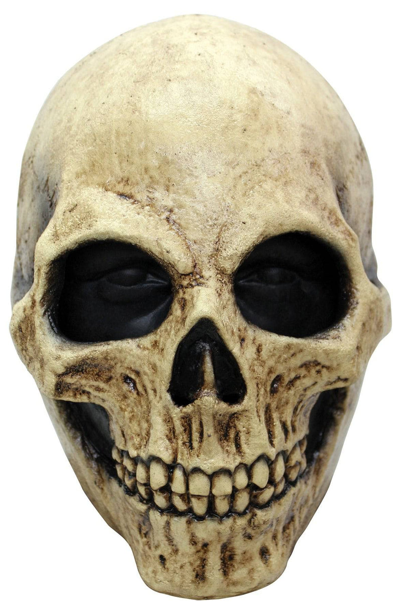 Ghoulish Productions Scary Bone Skull Theme Party Halloween Mask - Costume Arena