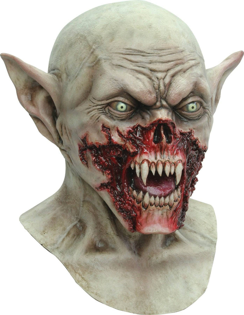 Ghoulish Productions Scary Kurten Horror Theme Party Latex Mask - Costume Arena