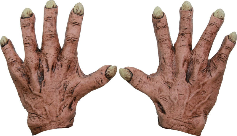 Ghoulish Productions Scary Monster Flesh Latex Hands Accessory - Costume Arena