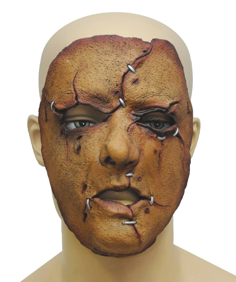 Ghoulish Productions Scary Serial Killer 27 Theme Halloween Mask - Costume Arena