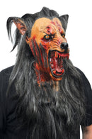 Ghoulish Productions Scary Wolf Horror Movie Halloween Latex Mask - Costume Arena