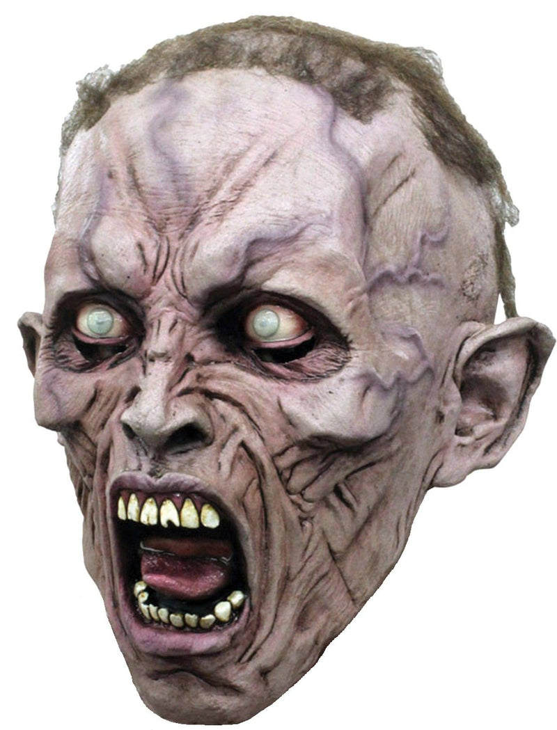 Ghoulish Productions Scream Zombie 2 3/4 Halloween Humorous Mask - Costume Arena