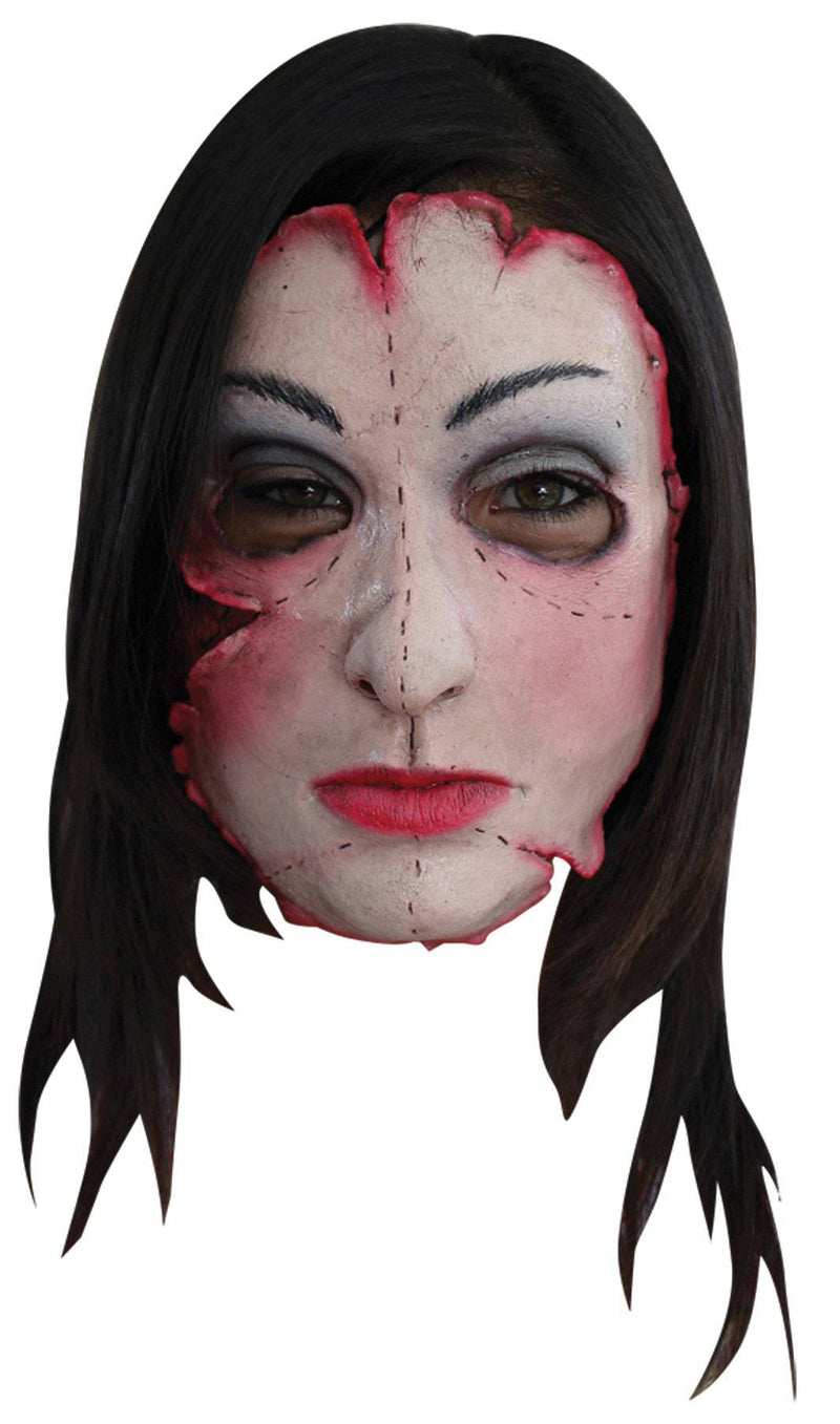 Ghoulish Productions Serial Killer 16 Scary Face Theme Party Mask - Costume Arena