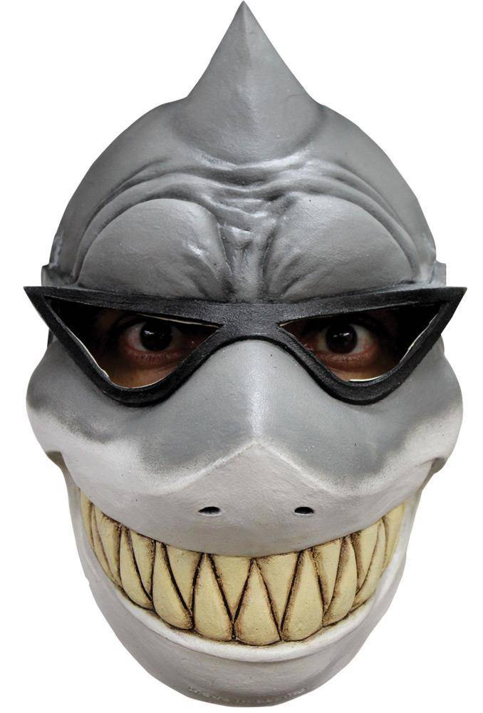 Ghoulish Productions Sharky Creepy Theme Halloween Humorous Mask - Costume Arena