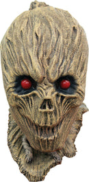 Ghoulish Productions Shrunken Scarecrow Halloween Latex Mask - Costume Arena