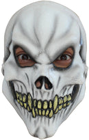 Ghoulish Productions Skull Scary Movie Theme Party Halloween Mask - Costume Arena