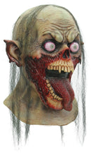Ghoulish Productions Tongue Slasher Horror Theme Party Latex Mask - Costume Arena