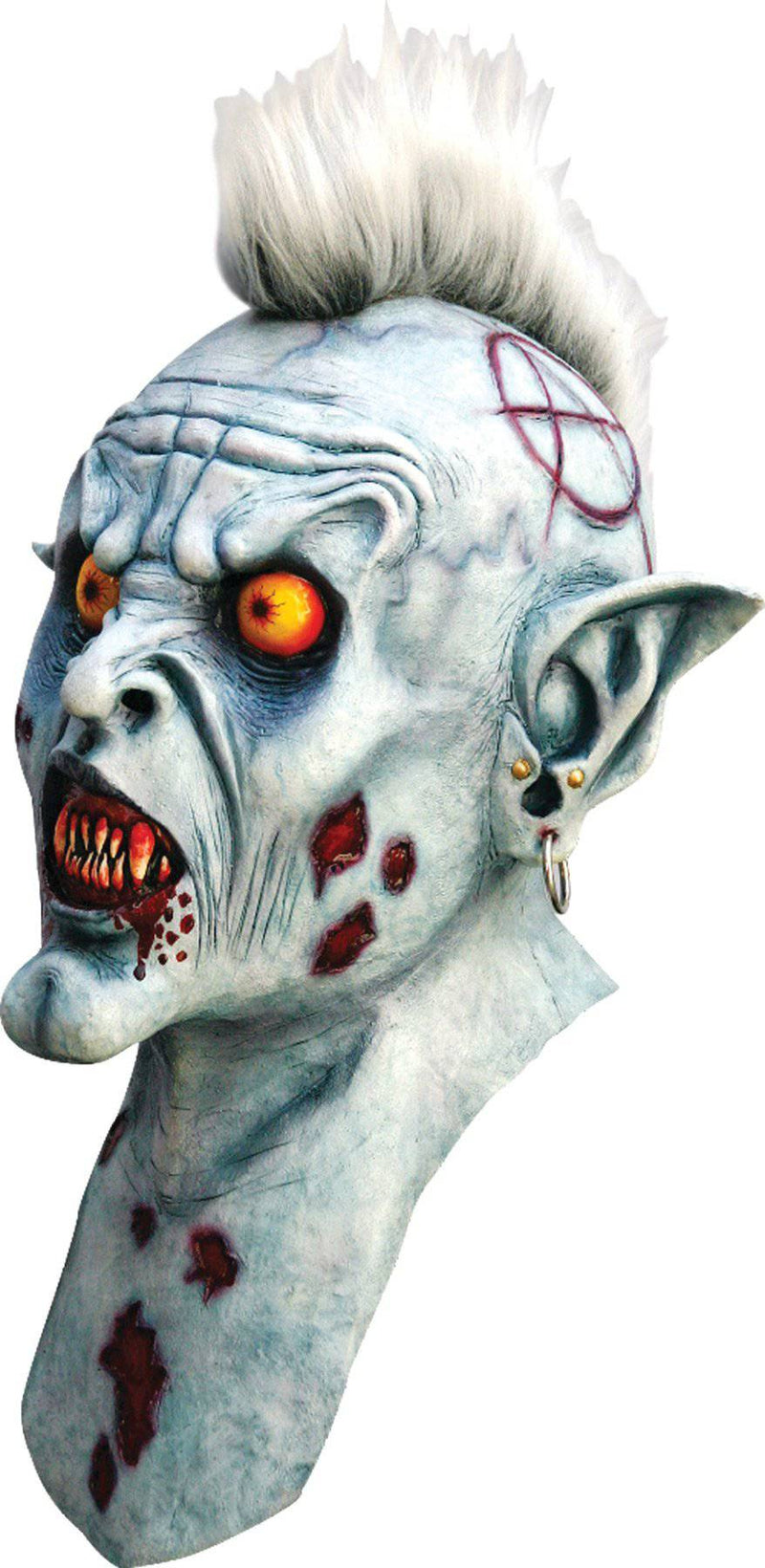 Ghoulish Productions Varcolak Horror Movie Theme Halloween Mask - Costume Arena