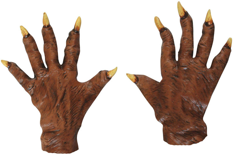 Ghoulish Productions Werewolf Gloves Horror Costume Accessory - Costume Arena