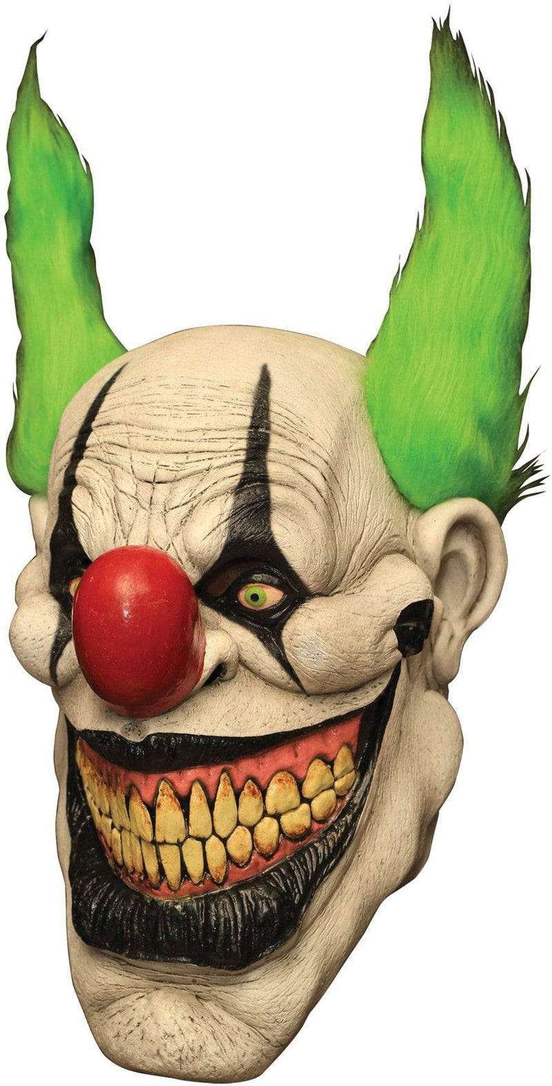 Ghoulish Productions Zippo The Clown Halloween Theme Latex Mask - Costume Arena