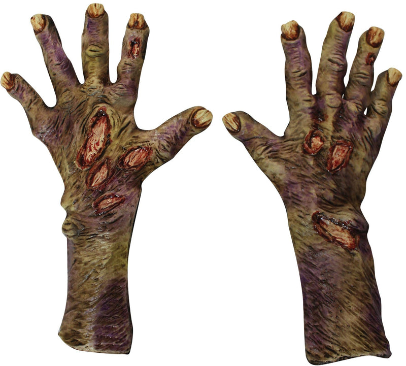 Ghoulish Productions Zombie Rotted Gloves Horror Party Accessory - Costume Arena