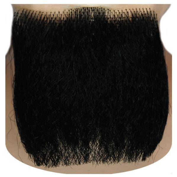 Lacey Wigs Men's 3-Point Beard-Blend Accessory Wig - Costume Arena