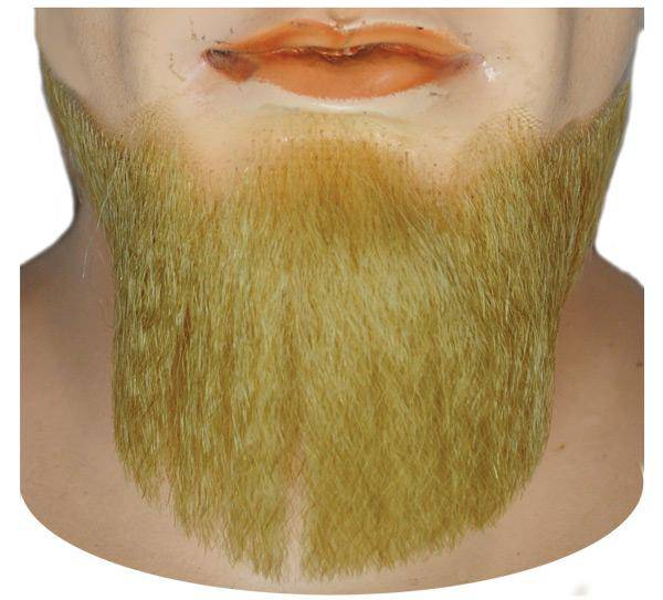 Lacey Wigs Men's 5-Point Beard-Blend Accessory Wig - Costume Arena