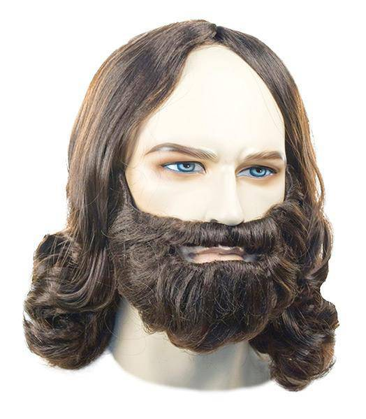 Lacey Wigs Men's Biblical Wig Religious Theme Accessory - Costume Arena