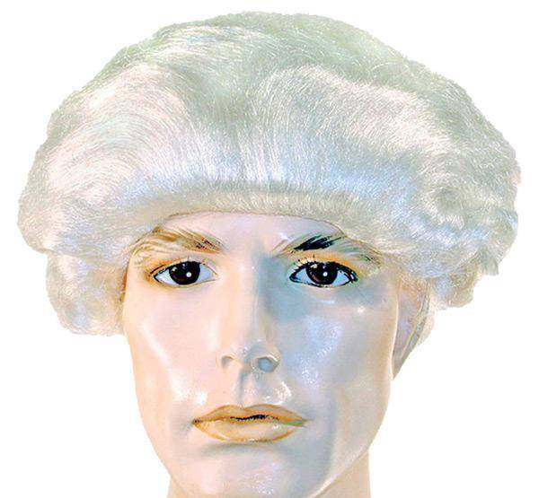 Lacey Wigs Men's Colonial Bob Theme Adult Accessory Wig - Costume Arena