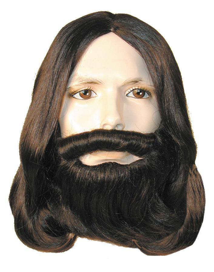 Lacey Wigs Men's Discount Biblical Set Theme Party Wig - Costume Arena