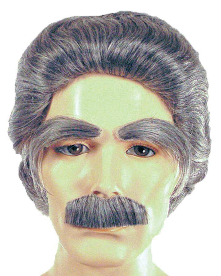 Lacey Wigs Men's Mark Twain Wig Theme Party Accessory - Costume Arena
