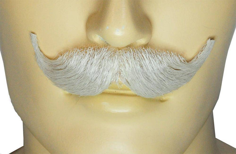 Lacey Wigs Men's Natural Mustache Theme Accessory Wig - Costume Arena