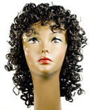 Lacey Wigs Men's New Curly Michael Party Accessory Wig - Costume Arena
