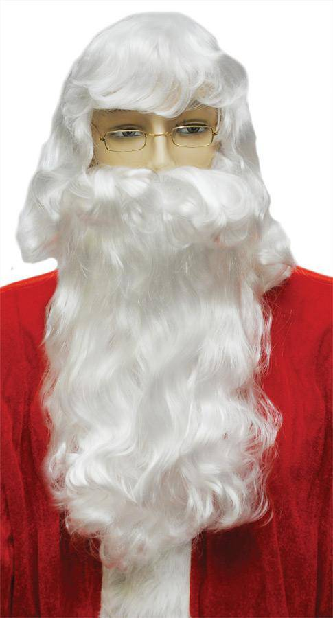 Lacey Wigs Men's Santa FS10 Set Christmas Accessories - Costume Arena