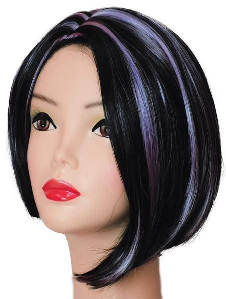 Lacey Wigs Women's Asymmetrical Short Wig Accessory - Costume Arena