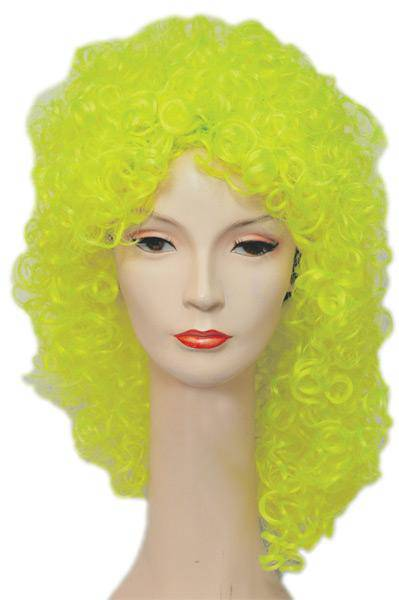 Lacey Wigs Women's Funny Party Wet Look Clown Adult Wig - Costume Arena