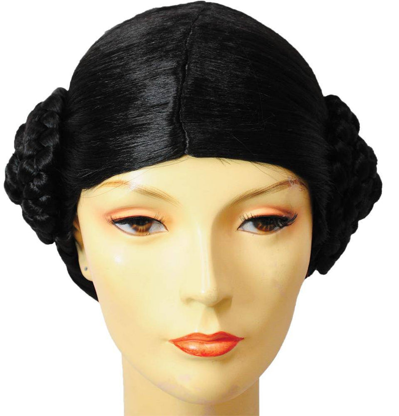 Lacey Wigs Women's Princess Leah Wig Adult Accessory - Costume Arena