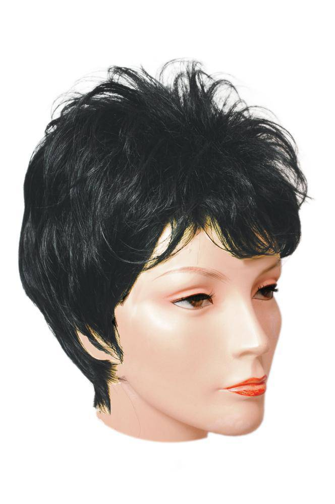 Lacey Wigs Women's Short Layered Liza Accessory Wig - Costume Arena
